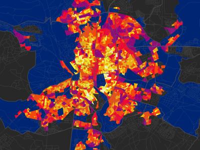 Monitorización del confort en barrios vulnerables